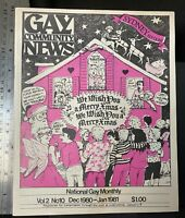 Gay Community News vintage gay LGBT magazine, vol. 2, no. 10, 1980-1981, Sydney