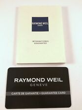 Raymond Weil Guarantee Manual for Watches