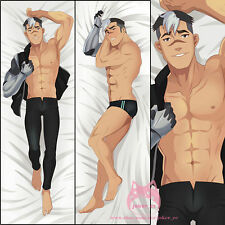 Voltron Legendary Defender Shiro Muscle Anime Dakimakura Hug Body Pillow Case
