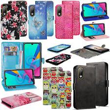 Per Huawei Honor 8S antiurto PU Pelle Stand Flip Wallet Custodia Cover Telefono