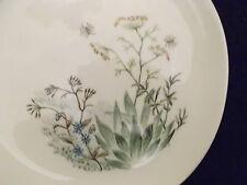 """Iva-Lure Iva Lure Crooksville Wildflower Pattern Vintage Bread Plate USA """"J-S"""""""