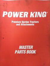 Power King Economy Jim Dandy Ut620 Lawn Garden Tractor Sec 14 Parts Manual