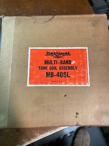 NOS National Multi Band TANK COIL ASSEMBLY MB-40SL Ham Radio UNUSED