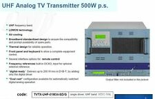 500 Watt DMT TV TRANSMITTER NTSC/PAL  TRANSMISOR EMETTEUR ПЕРЕДАВАЧ ПЕРЕДАТЧИК