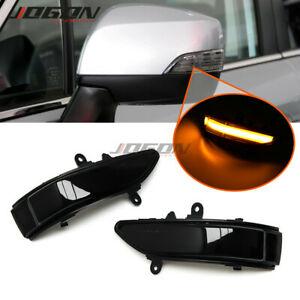 For Subaru Forester 11-13 Outback Legacy Tribeca LED Dynamic Side Mirror Light