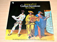 EX-/EX- !! City Waites/A Gorgeous Gallery Of Gallant Inventions/1971 EMI LP