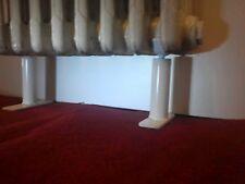 pieds pour radiateurs en fonte reglable 11cms a 14cms