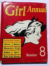 Girl Annual Number 8. 1960, Good Condition, Dust Jacket Present.