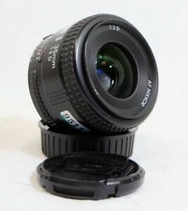Nikon AF Nikkor 35mm f/2.0 D Prime Lens w/ Caps - CLEAN, MUST SEE! (9511)