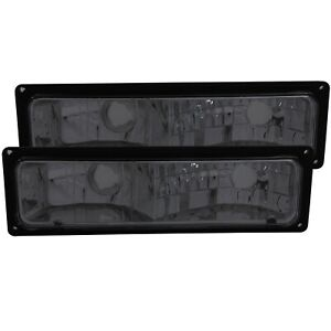 Anzo 511034 Euro Parking Lights Smoke For 88-98 Chevrolet C1500 Sold as a pair