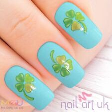 Clover Water Decal Nail Art Stickers, Decals, Tattoos