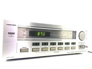 TOSHIBA ST-445 AM-FM Stereo Digital Tuner Vintage 1980 High End Refurbished 100%