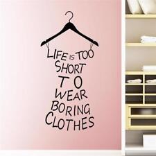 Clothes Tree Vinyl Wall Stickers Living Room Bedroom Wardrobe Decor Home Decals