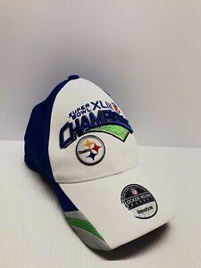 Reebok Pittsburgh Steelers Super Bowl XLIII Champions Hat New Tomlin