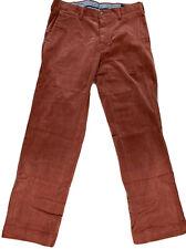 Ralph Lauren Polo Mens Classic Fit Corduroy Pants, Pink, 31 X 30