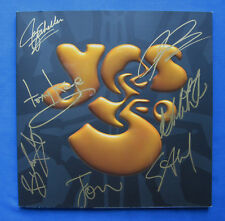 """Yes-""""50th Anniversary Limited Edition Autographed 2018 Tour Book"""" Steve Howe."""