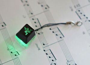 Razer Blackwidow Green LED Light Clicky Mechanical Keyboard Switch Tester