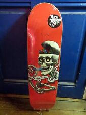 Powell Peralta Curb Skelly Skateboard Deck Red 2017 ripper