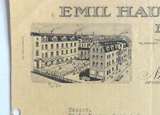 Germany Emil Hausmann Nurnberg Germany 1929 illustrated letterhead to India