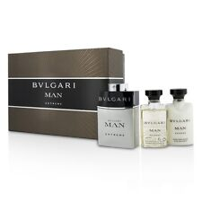 NEW Bvlgari Man Extreme Coffret: EDT Spray 60ml/2oz + After Shave Balm 3pcs Mens
