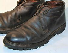 Alden 2-Eyelet Chukka Boots! Dark Brown Kudu Leather! Need Repair! 12728 10D
