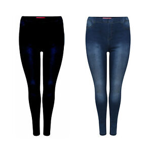 KIDS GIRLS HIGH WAISTED STRETCHY SKINNY JEANS DENIM JEGGINGS PANT SIZE 5-14 YEAR