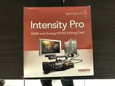 NEW Blackmagic Design Intensity Pro HDMI & Analog PCIe card