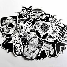 60pcs/lot Car Stickers Black Laptop Stickers Package Stickers No Colors Cartoon