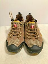 Swiss Gear Mens Hiking Shoes Brown Size 5 PreOwned