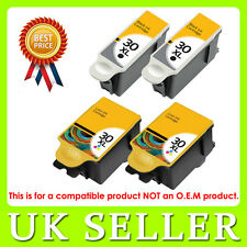 4 Kodak 30 Black & Colour XL Ink Cartridge for ESP C315 C310 C110 C115 Hero