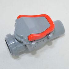 Rückstauverschluss Rückstauklappe DN �˜ 50 mm Rattenschutz für KG HT PP Einbau