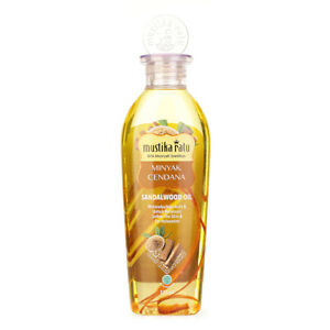 [MUSTIKA RATU] Sandalwood Cendana Extract Body Oil for Dry Skin Anti Aging 175ml