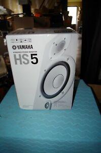 Yamaha HS5 in White / NEW (1 Unit)