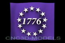 3d Stl Model For Cnc Router Artcam Aspire Usa America Betsy Ross D532