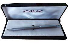 Montblanc Kugelschreiber silberfarben, Slimline