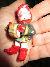 House of Hatten Mini 1999 Drummers Drumming Twelve Days of Christmas Ornament 12