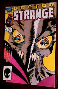 Doctor Strange 81 💥(1987) Marvel Comics 🔑 Last Issue 1st Full App. Of Rintrah