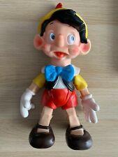 Walt Disney Pouet pouet PINOCCHIO Articulé 40 cm Jouet ancien