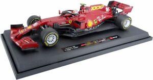 FERRARI SCUDERIA F1000 F1 car Vettel or Leclerc 2020 1:43 BURAGO 36819LM 36819VM