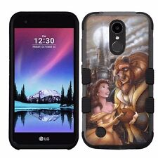 for LG K20 Plus/LG V5 Impact Armor Rugged Case Disney Beauty And The Beast