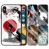 Dragon Ball Z Glass Phone Case Cover Anime Japan Skin For iPhone 11 Pro Xs Max 7