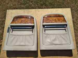 95-03 Jaguar X308 Vanden Plas back seat covers w/picnic trays