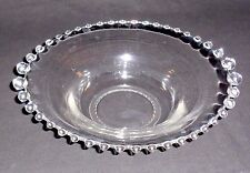"""RARE VINTAGE IMPERIAL GLASS.CANDLEWICK PATTERN GRADUATED BALL 11"""" BOWL """"PERFECT"""""""