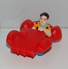 "1993 Fred Flintstone Car 2"" McDonald's Action Figure Flintstones"