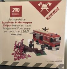 LEGO Fire Truck by Certified Professional Dirk Denoyelle - New Limited Edition