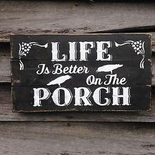 Hand made  PORCH Sign Primitive Farmhouse Rustic Country Home Decor