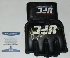 YAIR RODRIGUEZ SIGNED AUTO'D UFC OFFICIAL GLOVE MMA BAS COA FIGHT NIGHT