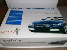 LED Daytime Running Lights 5X 1w High Power New Waterproof 2 x 5 lights