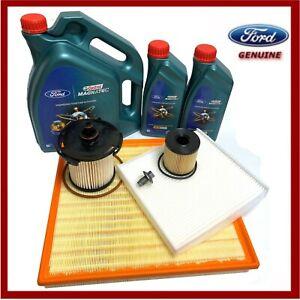 Genuine Ford Transit Mk7 2.2 TDCi Service Kit Oil Air Cabin Diesel Filter & Oil