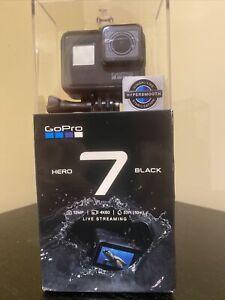NEW GoPro Hero7 Black Go Pro Hero 7 Action Camera Camcorder Waterproof 1080p 4K